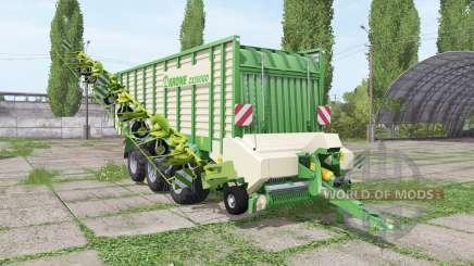 Krone ZX 550 GD rake pour Farming Simulator 2017
