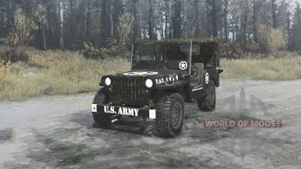 Willys MB 1942 U.S.Army pour MudRunner