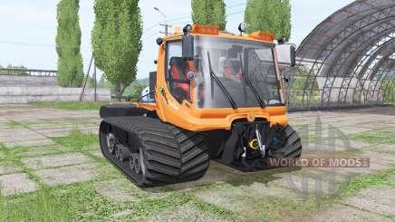 PistenBully 600 komunal v2.0 für Farming Simulator 2017