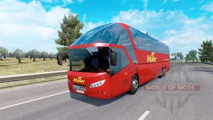 Bus traffic v4.1 pour Euro Truck Simulator 2