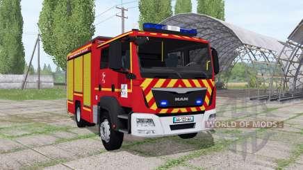 MAN TGM 18.250 Pompier v2.0 pour Farming Simulator 2017