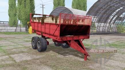PRT 10 pour Farming Simulator 2017