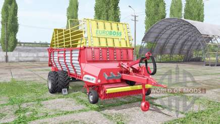 POTTINGER EUROBOSS 330 T twin tires v2.0 pour Farming Simulator 2017
