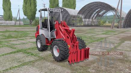 Weidemann 1770 CX 50 für Farming Simulator 2017