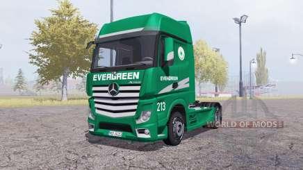 Mercedes-Benz Actros (MP4) Evergreen für Farming Simulator 2013