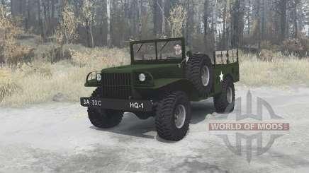 Dodge WC-51 [T214] 1942 pour MudRunner