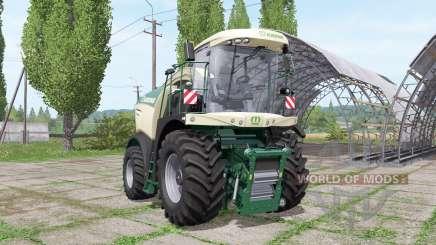 Krone BiG X 600 pour Farming Simulator 2017