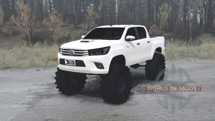 Toyota Hilux Double Cab 2016 pour MudRunner