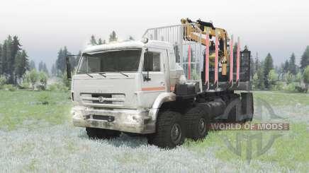 KAMAZ 6560-3198-43 pour Spin Tires