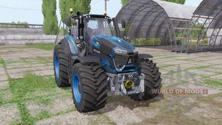 Deutz-Fahr Agrotron 9340 TTV blau design pour Farming Simulator 2017