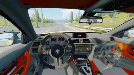 BMW M4 coupe (F82) v2.0 pour Euro Truck Simulator 2