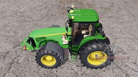 John Deere 8520 weight pour Farming Simulator 2015
