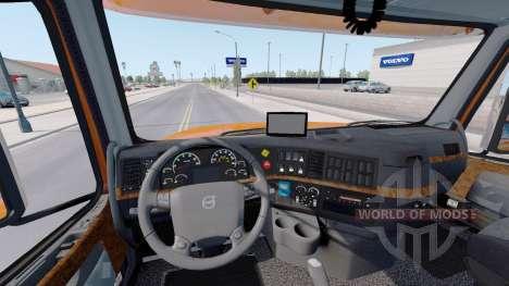 Volvo VT880 Raised-Roof Sleeper cab v1.4.1 pour American Truck Simulator