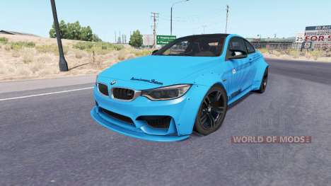 BMW M4 coupe (F82) v2.0 pour American Truck Simulator