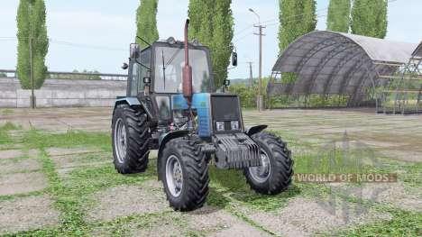 Belarus MTZ 1025 bleu pour Farming Simulator 2017