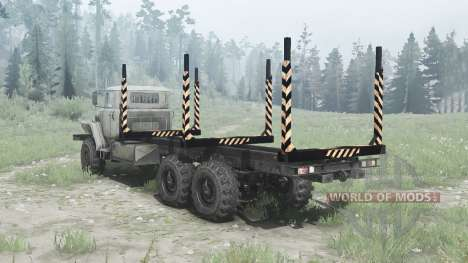 Oural 375Д châssis allongé pour Spintires MudRunner