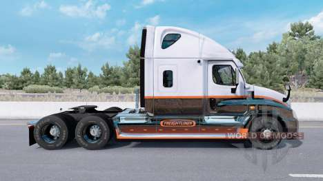 Freightliner Cascadia Raised Roof 2007 pour American Truck Simulator