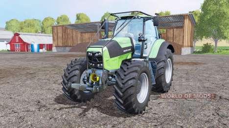 Deutz-Fahr Agrotron 7250 TTV forest pour Farming Simulator 2015