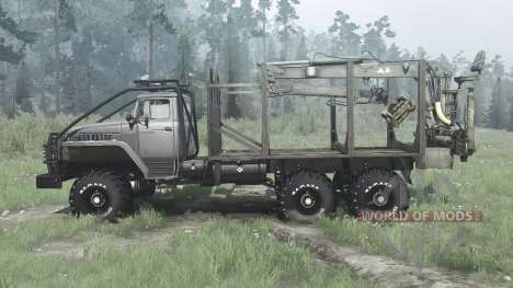 Oural 43204-31 pour Spintires MudRunner