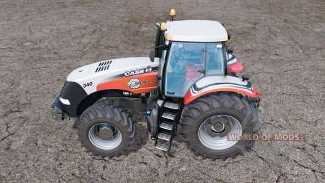 Case IH Magnum 340 CVX Silver Edition pour Farming Simulator 2015