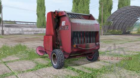 Hesston 5580 pour Farming Simulator 2017
