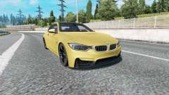 BMW M4 coupe (F82) v2.0 pour Euro Truck Simulator 2