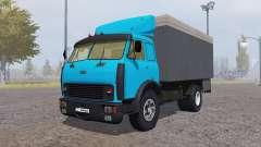 MAZ 500 conteneur bleu pour Farming Simulator 2013