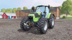 Deutz-Fahr Agrotron 7250 TTV front loader für Farming Simulator 2015