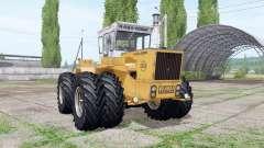 RABA-Steiger 250 twin wheels für Farming Simulator 2017