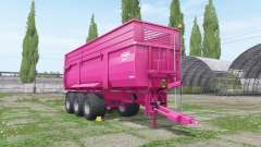 Krampe Big Body 900 multicolor pour Farming Simulator 2017