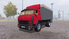 MAZ 500 container rot für Farming Simulator 2013