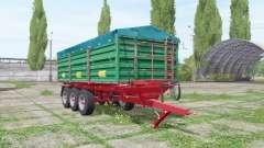 METALTECH TB 20 pour Farming Simulator 2017