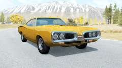 Dodge Coronet Super Bee coupe (WM21) 1969 pour BeamNG Drive