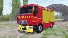 Renault D Sapeurs-Pompiers für Farming Simulator 2017