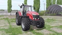 Massey Ferguson 8737 red für Farming Simulator 2017