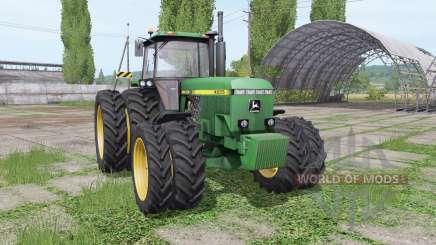 John Deere 4555 v4.0.0.1 für Farming Simulator 2017