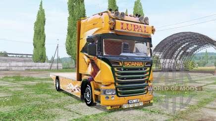 Scania R Topline Lupal pour Farming Simulator 2017