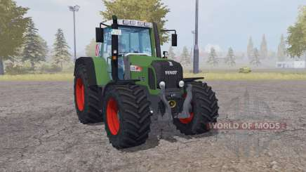 Fendt 820 Vario TMS front loader pour Farming Simulator 2013