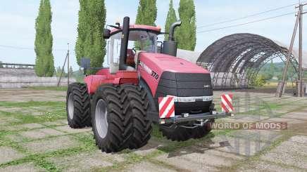 Case IH Steiger 370 twin wheels pour Farming Simulator 2017