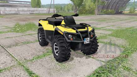 Can-Am Outlander 1000 XT v2.0 für Farming Simulator 2017