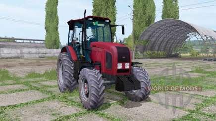La biélorussie 2022.3 rouge pour Farming Simulator 2017
