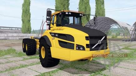 Volvo A40G FS hooklift v0.5 für Farming Simulator 2017