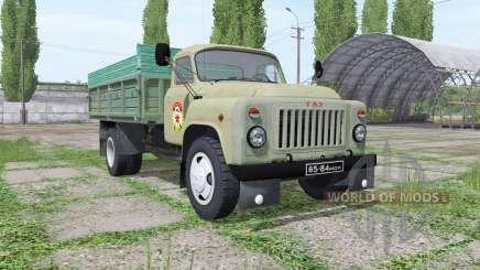 GAZ 53 DOSAAF für Farming Simulator 2017