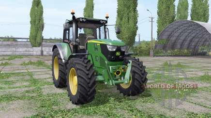 John Deere 6115M wide tyre pour Farming Simulator 2017