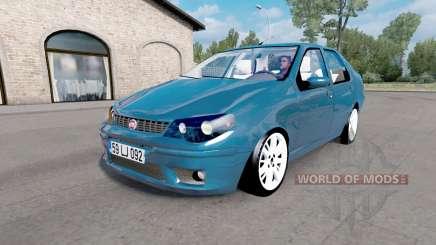 Fiat Albea (178) 2006 v1.1 pour Euro Truck Simulator 2