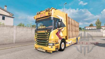 Scania R Topline Lupal pour Euro Truck Simulator 2