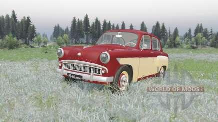 Moskvitch 407 1958 v2.0 pour Spin Tires