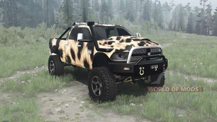 Dodge Ram 2500 Heavy Duty Crew Cab pour MudRunner