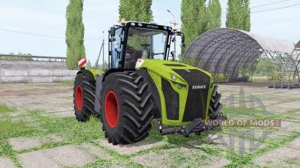 CLAAS Xerion 5000 Trac VC green pour Farming Simulator 2017