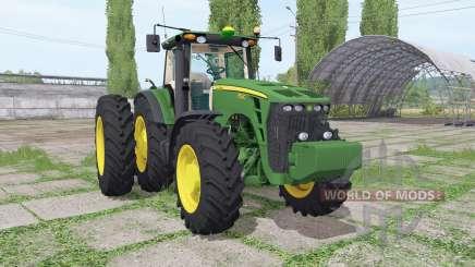 John Deere 8530 dual rear für Farming Simulator 2017